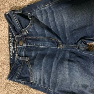 American eagle super high waisted jeans